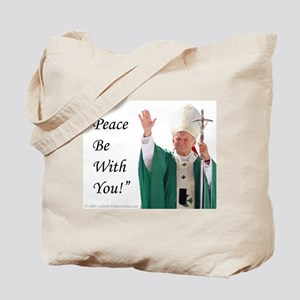 Pope John Paul II Tote Bag