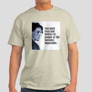 "Chekhov ""Trust"" Light T-Shirt"