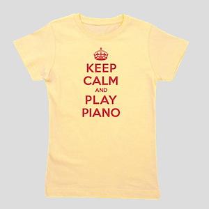 Keep Calm Play Piano T-Shirt
