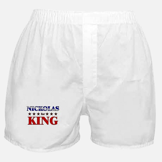 NICKOLAS for king Boxer Shorts