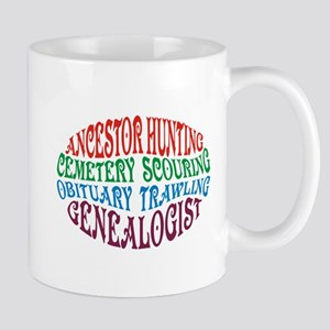 Ancestor Hunting Stainless Steel Travel Mugs