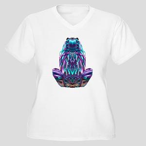 Frog - Women's Plus Size V-Neck T-Shirt
