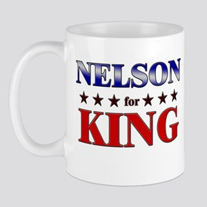 NELSON for king Mug
