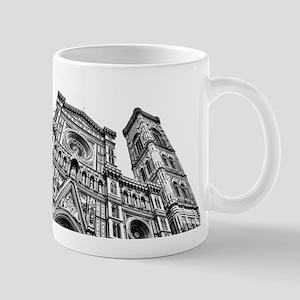 Il Duomo (black and white) Mugs