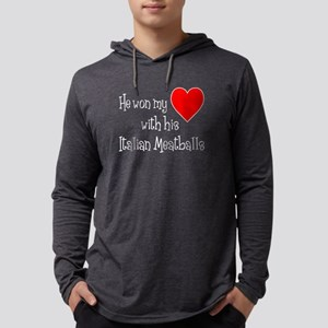 Won My Heart Italian Meatballs Long Sleeve T-Shirt