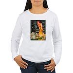 Midsummer / Cocker Spaniel Women's Long Sleeve T-S