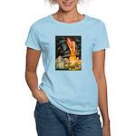 Midsummer / Cocker Spaniel Women's Light T-Shirt