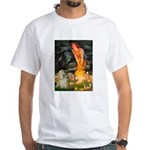 Midsummer / Cocker Spaniel White T-Shirt