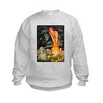 Midsummer / Cocker Spaniel Kids Sweatshirt