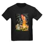 Midsummer / Cocker Spaniel Kids Dark T-Shirt