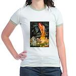 Midsummer / Cocker Spaniel Jr. Ringer T-Shirt