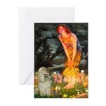 Midsummer / Cocker Spaniel Greeting Cards (Pk of 1