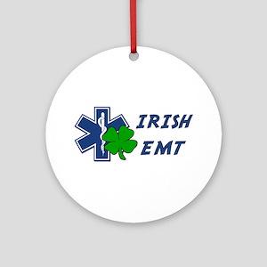 Irish EMT Ornament (Round)