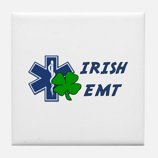 Irish EMT Tile Coaster