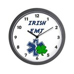 Irish EMT Wall Clock
