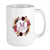 Anniversary personalized Large Mugs (15 oz)