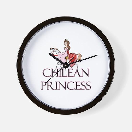 Chilean Princess Wall Clock