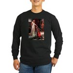Accolade / Cocker Spaniel Long Sleeve Dark T-Shirt