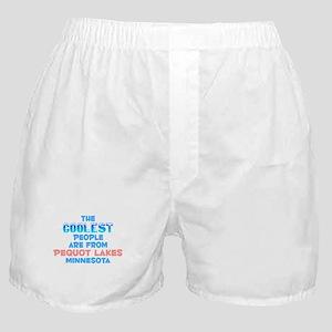 Coolest: Pequot Lakes, MN Boxer Shorts