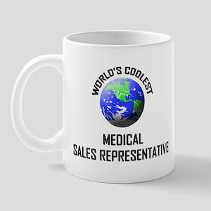 World's Coolest MEDICAL SALES REPRESENTATIVE Mug