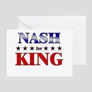 NASH for king Greeting Card