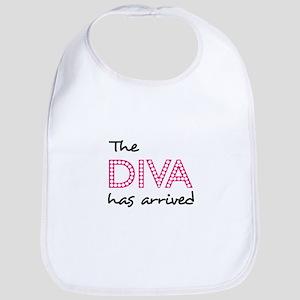 DIVA HAS ARRIVED Baby Bib