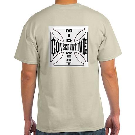 Mid-West Conservative Ash Grey T-Shirt