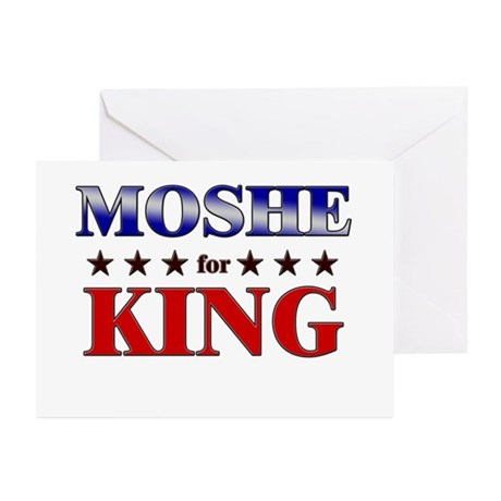 MOSHE for king Greeting Cards (Pk of 20)