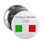 Hablo español/ Button (10 pack)