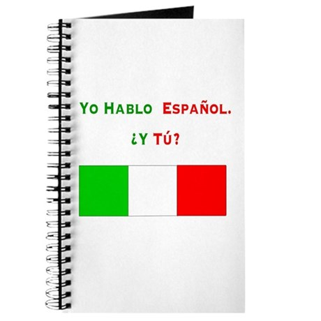 Yo hablo español/Journal