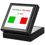 Yo hablo español/Keepsake Box