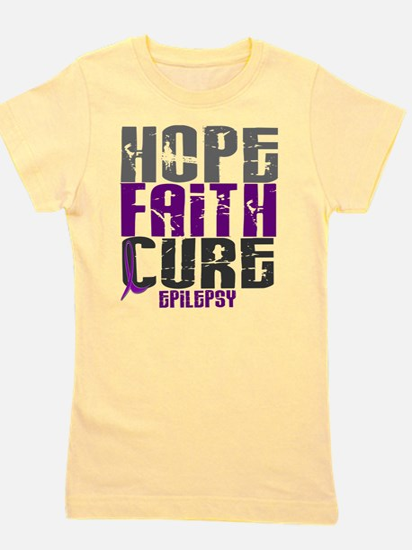 HOPE FAITH CURE Epilepsy T-Shirt