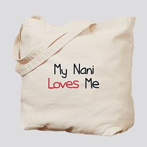 My Nani Loves Me Tote Bag