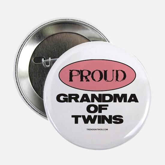 "Grandma of Twins - 2.25"" Button"
