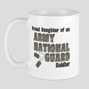 National Guard Daughter (tags) Mug
