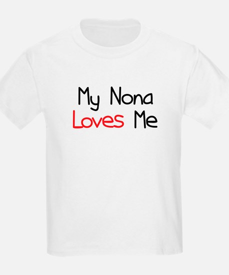 My Nona Loves Me T-Shirt