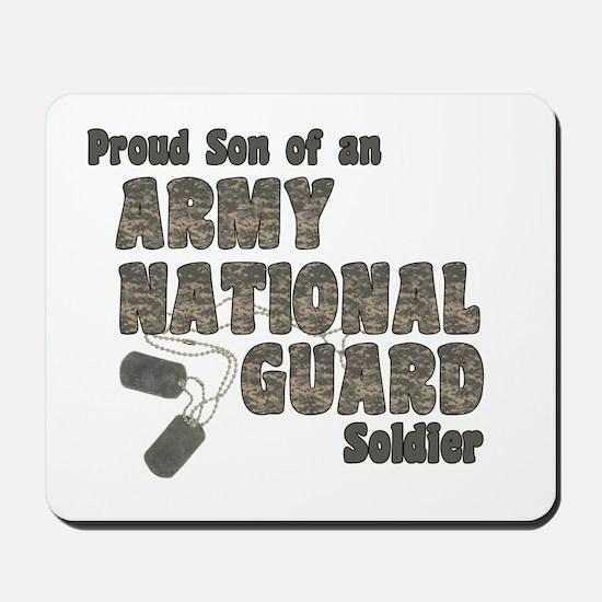 National Guard Son (tags) Mousepad