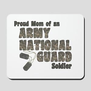 National Guard Mom (tags) Mousepad