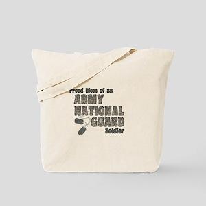 National Guard Mom (tags) Tote Bag