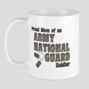 National Guard Mom (tags) Mug