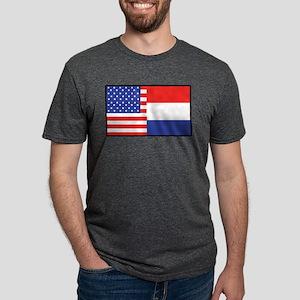 USA/Holland Ash Grey T-Shirt
