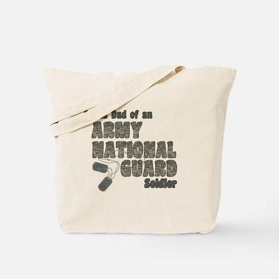 National Guard Dad (tags) Tote Bag