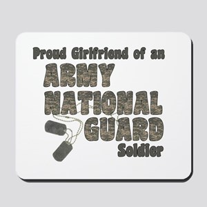 National Guard Girlfriend (tags) Mousepad