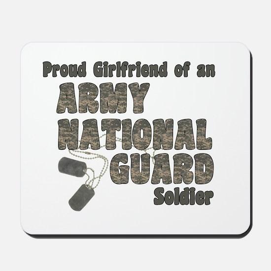 National Guard Girlfriend (tags) Mousepad