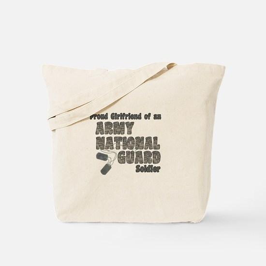 National Guard Girlfriend (tags) Tote Bag