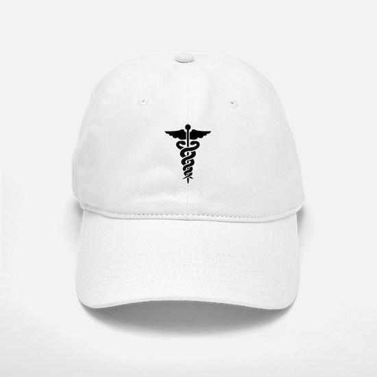 Medical Symbol Caduceus Baseball Baseball Cap