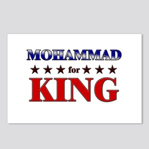 MOHAMMAD for king Postcards (Package of 8)