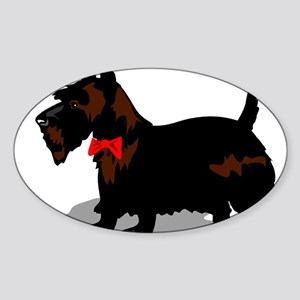SCOTTY Oval Sticker