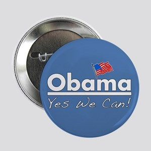 "Obama: Yes We Can! 2.25"" Button"