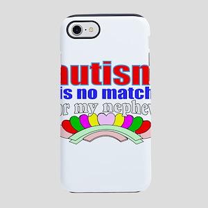 Autism vs nephew iPhone 8/7 Tough Case